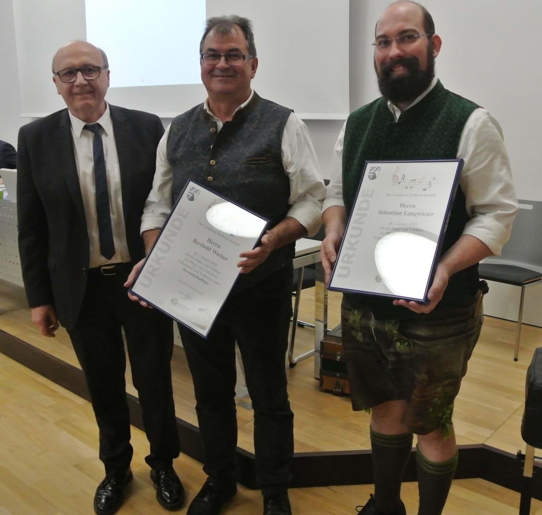 Kultur- und Heimatpflege: Ernennung zu Kreismusikpflegern ...